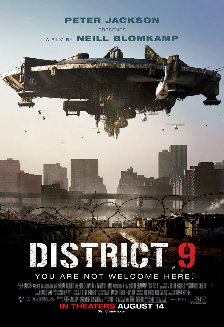 Throwback: District 9 - SciFiNow - The World's Best Science Fiction,  Fantasy and Horror Magazine
