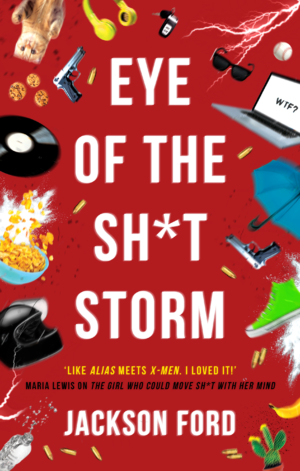 Eye of the sh* storm: Cover reveal