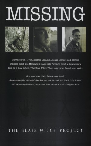 Flashback: The Blair Witch Project