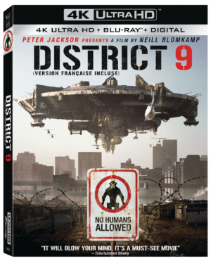 District 9: Win a copy of the sci-fi classic on 4K!
