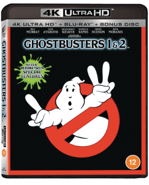 Ghostbusters: Win the classic family frightener on 4K!