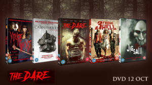 The Dare: Horror DVD bundle competition!
