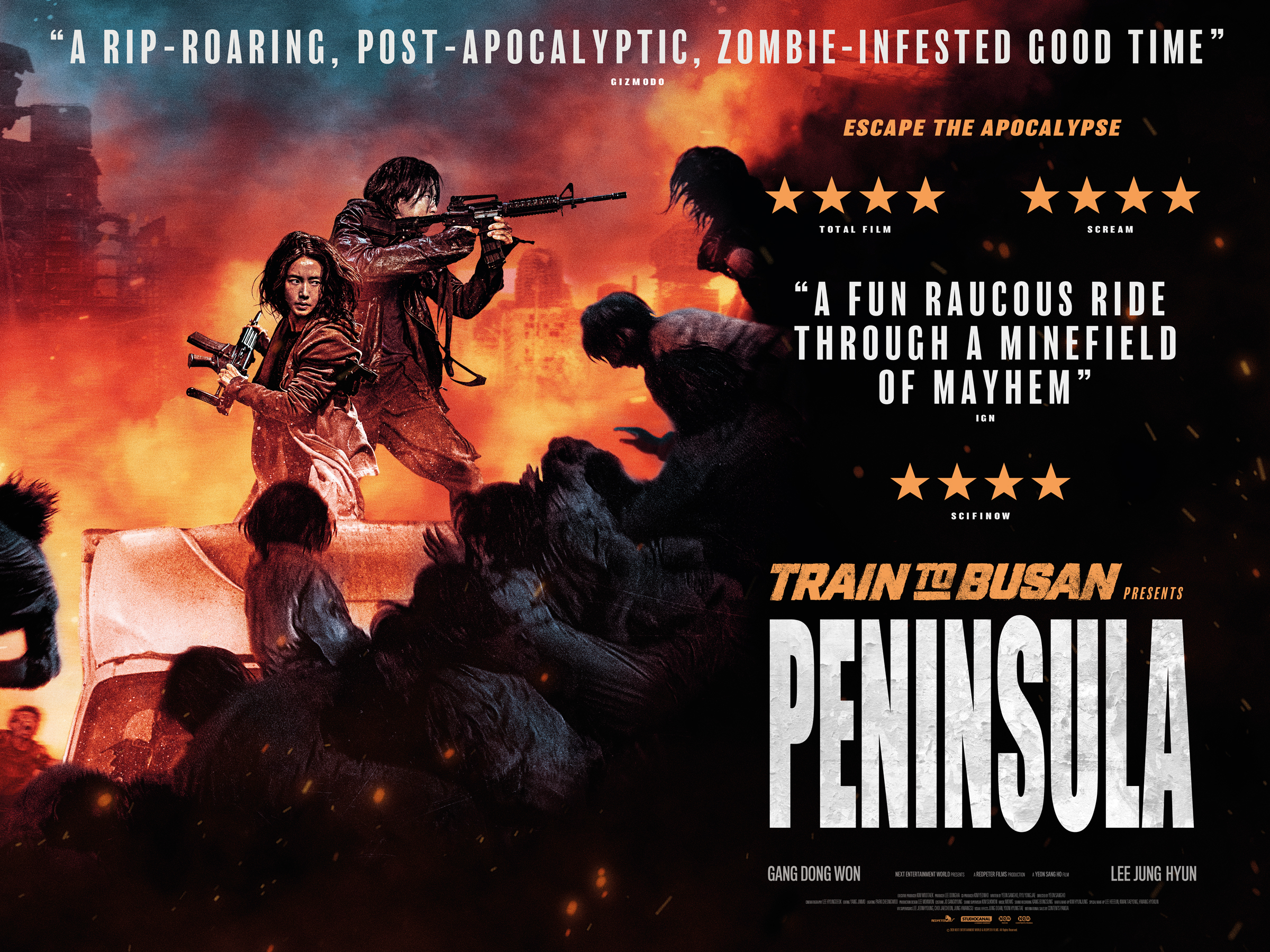 Train To Busan Presents Peninsula review: Action K-zom