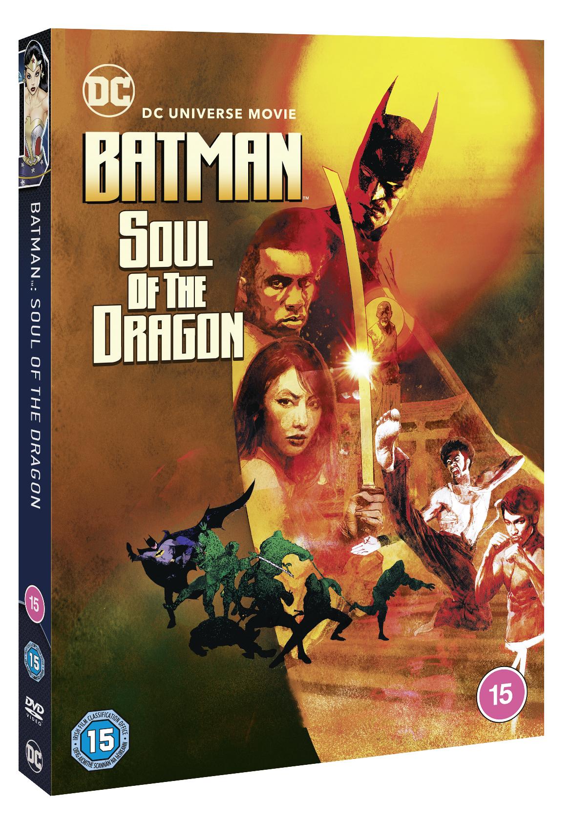Batman: Soul of The Dragon Review: Enter the [Richard] Dragon