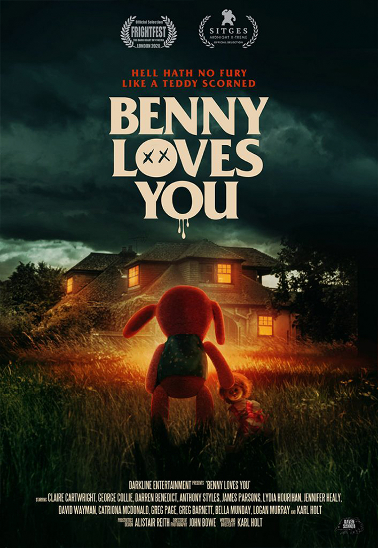 Benny Loves You: Scare Bear