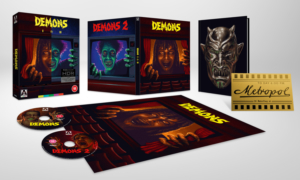 Demons 1 & 2: Win the classic horrors on Blu-ray!