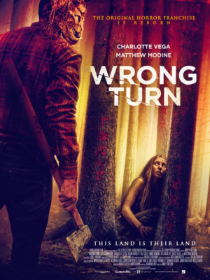 Wrong Turn (2021): New artwork and clips released