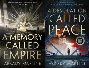 Competition: Win A Memory Called Empire and A Desolation Called Peace