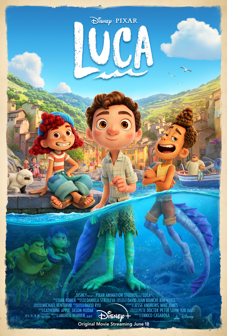 Luca Review: Caught in a fish bromance