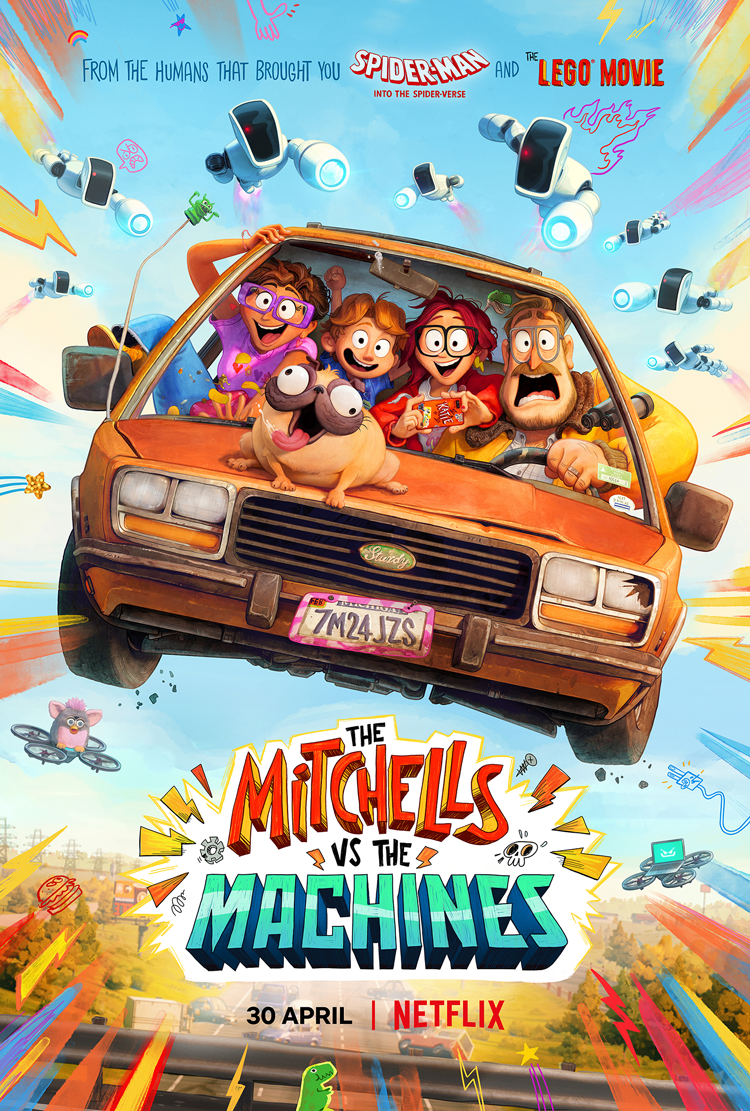 The Mitchells vs. the Machines: Quirky comedy with heart