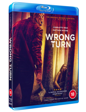 Wrong Turn (2021): Win the franchise reboot on Blu-ray