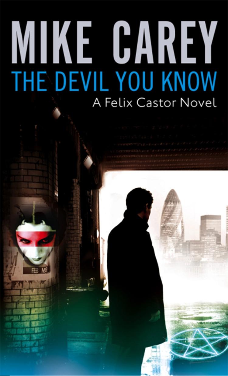 Top Five Supernatural Detectives by Shadow Service author Cavan Scott The Devil You Know