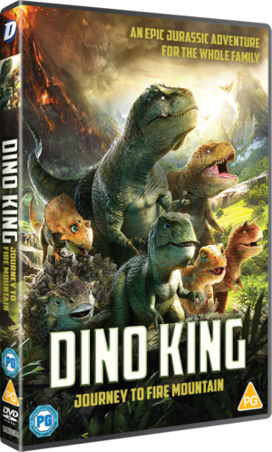 Dino King: Journey To Fire Mountain Competition