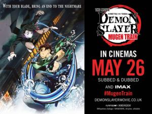 Win Demon Slayer -Kimetsu no Yaiba- The Movie: Mugen Train posters