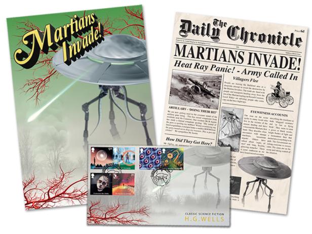 Martians Invade The Postal System?