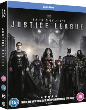 Win Zack Snyder's Justice League Blu-ray bundle