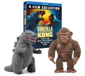 Godzilla vs Kong: Win monster goodies!