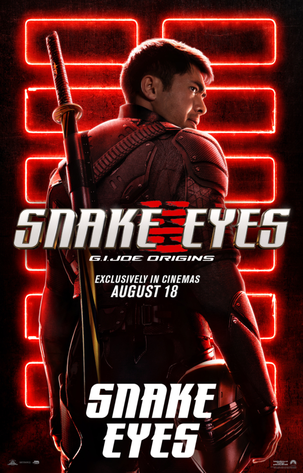 Snake Eyes: G.I. Joe Origins character posters revealed