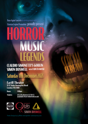 Horror Music Legends: One-off London concert announced