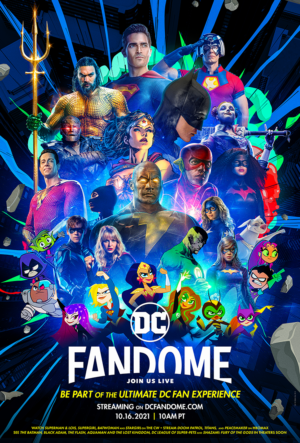 DC FanDome: Free virtual fan event to return on 16 October