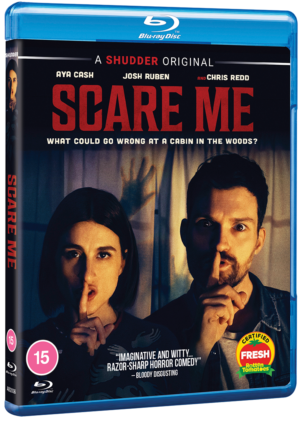 Scare Me: Win two copies of the comedy horror on blu-ray