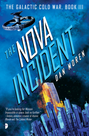 The Nova Incident: Cover reveal and interview with author Dan Moren