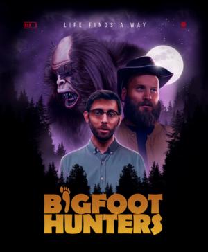 Bigfoot Hunters: UK artwork exclusive reveal for upcoming creature feature