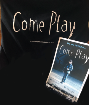 Come Play: Win an official T-shirt for new family horror