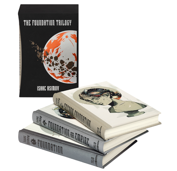 The Foundation Trilogy: Re-visit Isaac Asimov's seminal sci-fi with The Folio Society