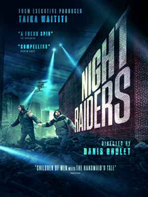 Night Raiders: Exclusive reveal of UK artwork for dystopian thriller