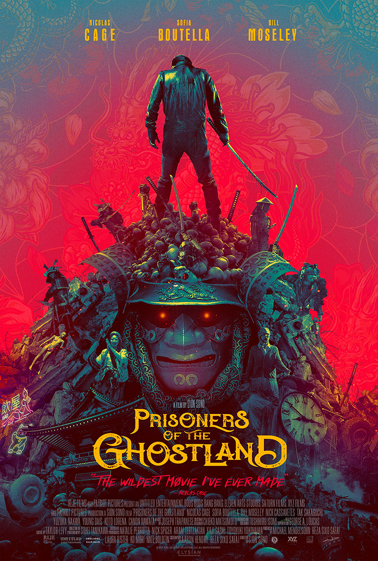 Prisoners Of The Ghostland review: Please release me