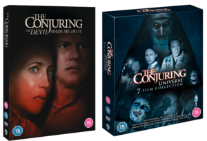 Win The Conjuring: The Devil Made Me Do It on Blu-ray or a box set of The Conjuring Universe!