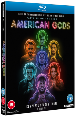 American Gods: Win Season Three Blu-Ray Box Set