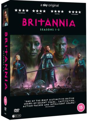 Britannia: Win all three seasons on DVD!